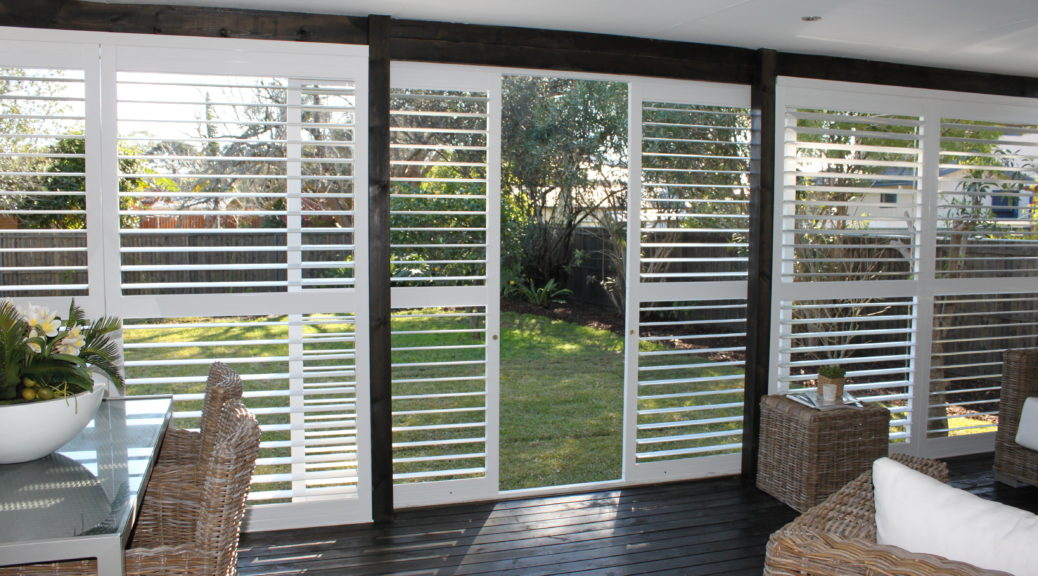 Here's why you should choose plantation shutters for sliding doors