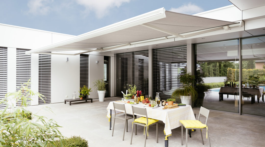 What are the benefits of having awnings?