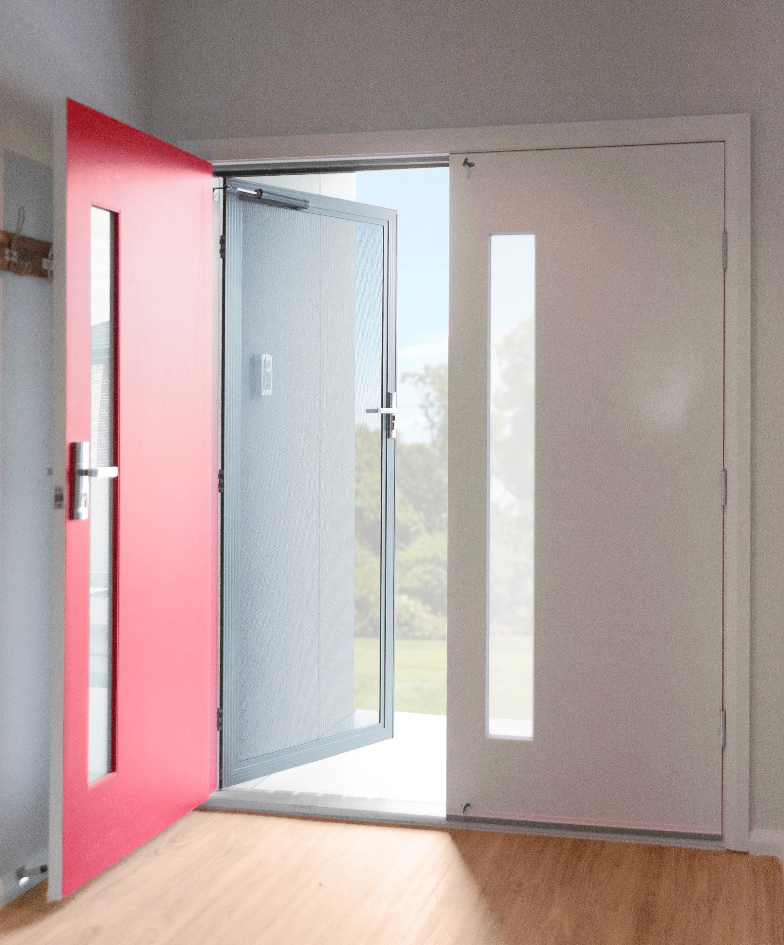 What is a security door?